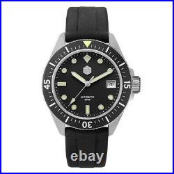 SAN MARTIN Japan NH35 Automatic Watch 200M Diver Submariner Homage 40mm Sapphire