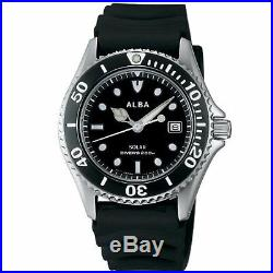 SEIKO ALBA Watch Solar Men's Divers Water-resistant for diving 200 m AEFD530