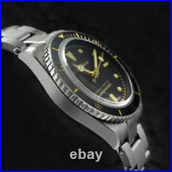 San Martin New 6204 Water Ghost Luxury Men Watches NH35 Mov't Mechanical Watch