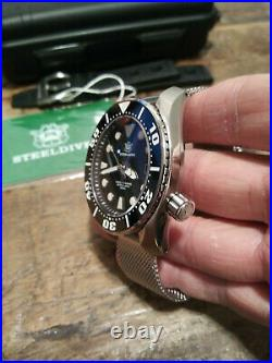 Steeldive SD1971 Seiko NH35 SUMO Automatic Stainless Steel Mens 200M Diver Watch