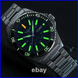 T100 tritium Watch, Dive Watches for Men Yelang Automatic Watch 300m Waterproof