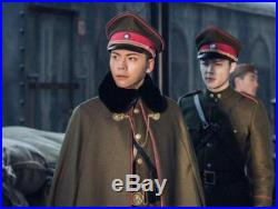 The Republic of China Era Costume Warlord General Military Uniform Suit Cosplay