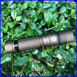ThruNite TC15, 2300 High Lumens Rechargeable LED Flashlight military Tan CW