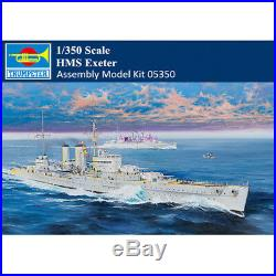 Trumpeter 05350 1/350 Scale HMS Exeter Heavy Cruiser Military Assembly Model Kit