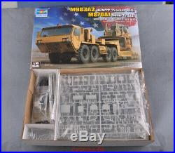 Trumpeter 1/35 01055 M983A2 HEMTT Tractor withM870A1 Semi-Trailer Assembly Model