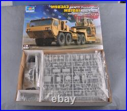 Trumpeter 1/35 01055 M983A2 HEMTT Tractor with M870A1 Semi-Trailer model kit