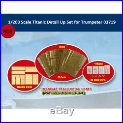 Trumpeter 66600 1/200 Scale Titanic Detail Up Set for Trumpeter 03719 Model Kits