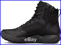 Under Armour 1303129 Men's UA Stellar 8 Tactical Side-Zip Duty Leather Boots