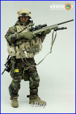 Veryhot 1/6 Scale Military Action Figure Toy Sniper in Jungle Uniform VH1010
