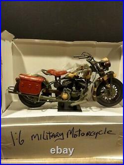 WW2 US Army Indian Chief Motorcycle 1998, 16. Never displayed. On stand