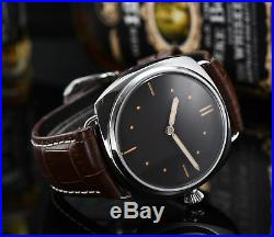 Watch military Mechanical 6497 Parnis wrist sterile Dial hand winding A7