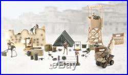 World Peacekeepers Military Checkpoint Army Action Toy Figure Play Set