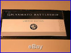 Yamato Ww II Imperial Japanese Navy Battleship Franklin Mint With Dust Cover